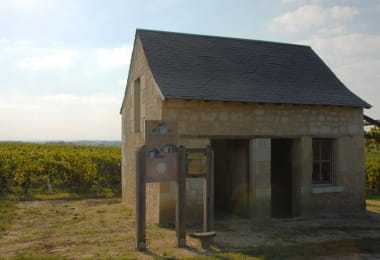 Maison Audebert - Vineyard hut - Bourgueil, France.