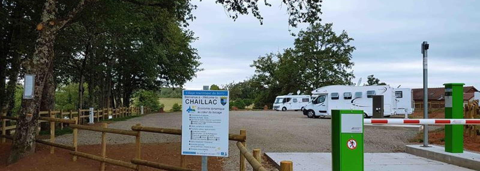 Borne camping cars Chaillac